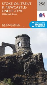 OS Explorer - 258 - Stoke-on-Trent & Newcastle-under-Lyme