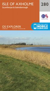 OS Explorer - 280 - Isle of Axholme, Scunthorpe & Gainsborough