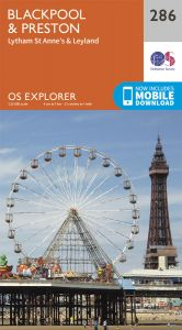 OS Explorer - 286 - Blackpool & Preston
