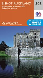 OS Explorer - 305 - Bishop Auckland