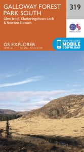 OS Explorer - 319 - Galloway Forest Park South