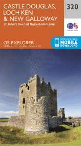 OS Explorer - 320 - Castle Douglas, Loch Ken & New Galloway