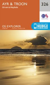 OS Explorer - 326 - Ayr & Troon