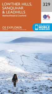 OS Explorer - 329 - Lowther Hills, Sanquhar & Leadhills