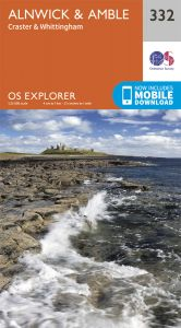 OS Explorer - 332 - Alnwick & Amble