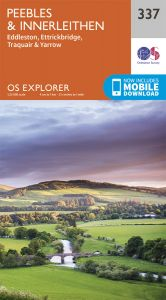 OS Explorer - 337 - Peebles & Interleithen