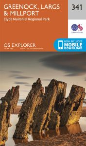 OS Explorer - 341 - Greenock, Largs & Millport