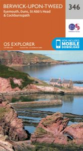 OS Explorer - 346 - Berwick-upon-Tweed