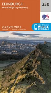 OS Explorer - 350 - Edinburgh