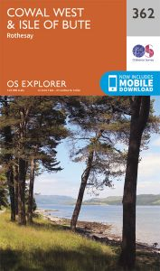 OS Explorer - 362 - Cowal West & Isle of Bute