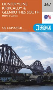 OS Explorer - 367 - Dunfermline, Kirkcaldy & Glenrothes South