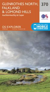 OS Explorer - 370 - Glenrothes North, Falkland & Lomond Hills