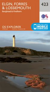OS Explorer - 423 - Elgin, Forres & Lossiemouth
