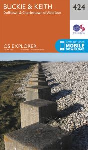 OS Explorer - 424 - Buckie & Keith