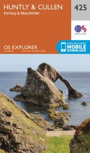 OS Explorer - 425 - Huntly & Cullen