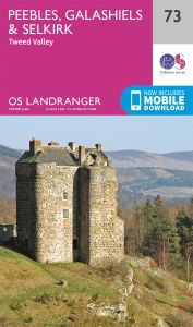 OS Landranger - 73 - Peebles, Galashiels & Selkirk, Tweed Valley
