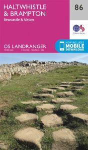OS Landranger - 86 - Haltwhistle & Brampton, Bewcastle & Alston