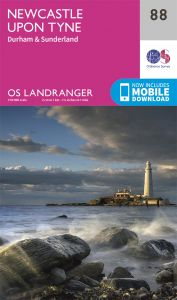 OS Landranger - 88 - Newcastle upon Tyne, Durham