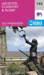 OS Landranger - 140 - Leicester, Coventry & Rugby