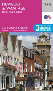 OS Landranger - 174 - Newbury & Wantage, Hungerford