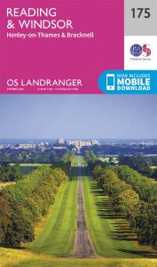 OS Landranger - 175 - Reading, Windsor, Henley-on-Thames