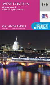 OS Landranger - 176 - West London, Rickmansworth