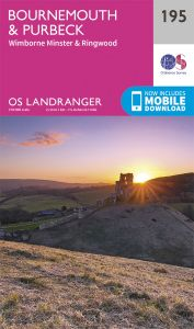 OS Landranger - 195 - Bournemouth & Purbeck
