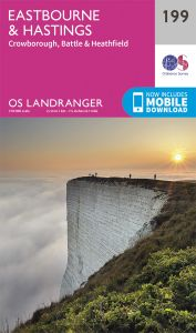 OS Landranger - 199 - Eastbourne & Hastings, Battle & Heathfield