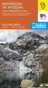 OS Explorer Leisure - OL17 - Snowdon & Conwy Valley