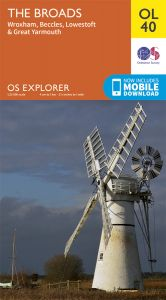 OS Explorer Leisure - OL40 - The Broads