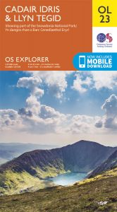 OS Explorer Leisure - OL23 - Cadair Idris & Llyn Tegid