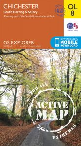 OS Explorer Active - 8 - Chichester