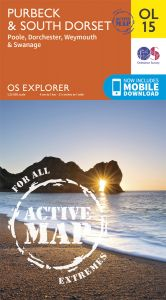 OS Explorer Active - 15 - Purbeck & South Dorset