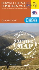 OS Explorer Active - 19 - Howgill Fells & Upper Eden Valley