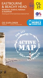 OS Explorer Active - 25 - Eastbourne & Beachy Head
