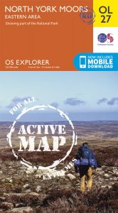 OS Explorer Active - 27 - North York Moors - Eastern area