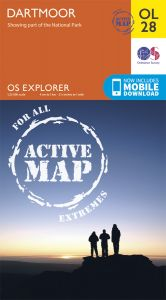 OS Explorer Active - 28 - Dartmoor
