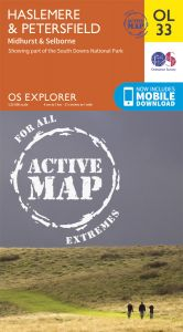 OS Explorer Active - 33 - Haslemere & Petersfield