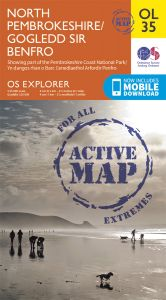 OS Explorer Active - 35 - North Pembrokeshire