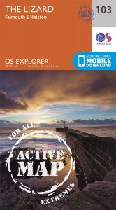 OS Explorer Active - 103 - The Lizard