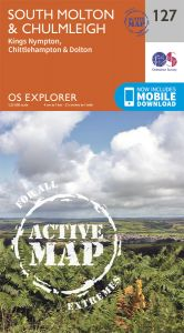 OS Explorer Active - 127 - South Molton & Chulmleigh