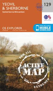 OS Explorer Active - 129 - Yeovil & Sherborne