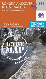 OS Explorer Active - 131 - Romsey, Andover & Test Valley