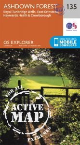 OS Explorer Active - 135 - Ashdown Forest