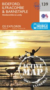 OS Explorer Active - 139 - Bideford Ilfracome and Barnstaple