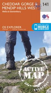 OS Explorer Active - 141 - Cheddar Gorge & Mendip Hills West