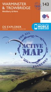 OS Explorer Active - 143 - Warminster & Trowbridge