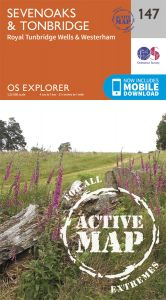OS Explorer Active - 147 - Sevenoaks & Tonbridge