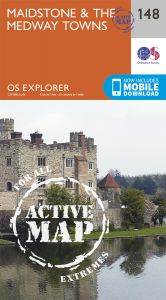 OS Explorer Active - 148 - Maidstone & the Medway Towns
