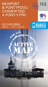OS Explorer Active - 152 - Newport & Pontypool